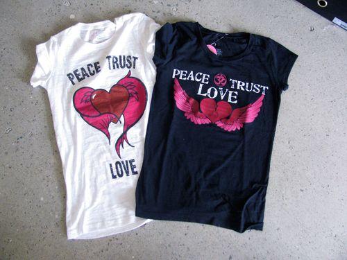 Peacetrustlovetee