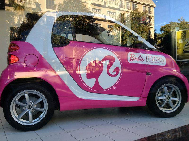 Barbie'sSmartCar