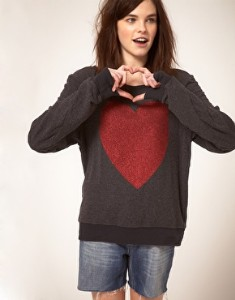 Wildfox-red-sparkle-heart-jumper