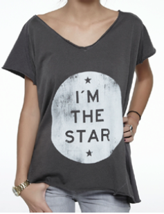 I'm Star Oversize tee